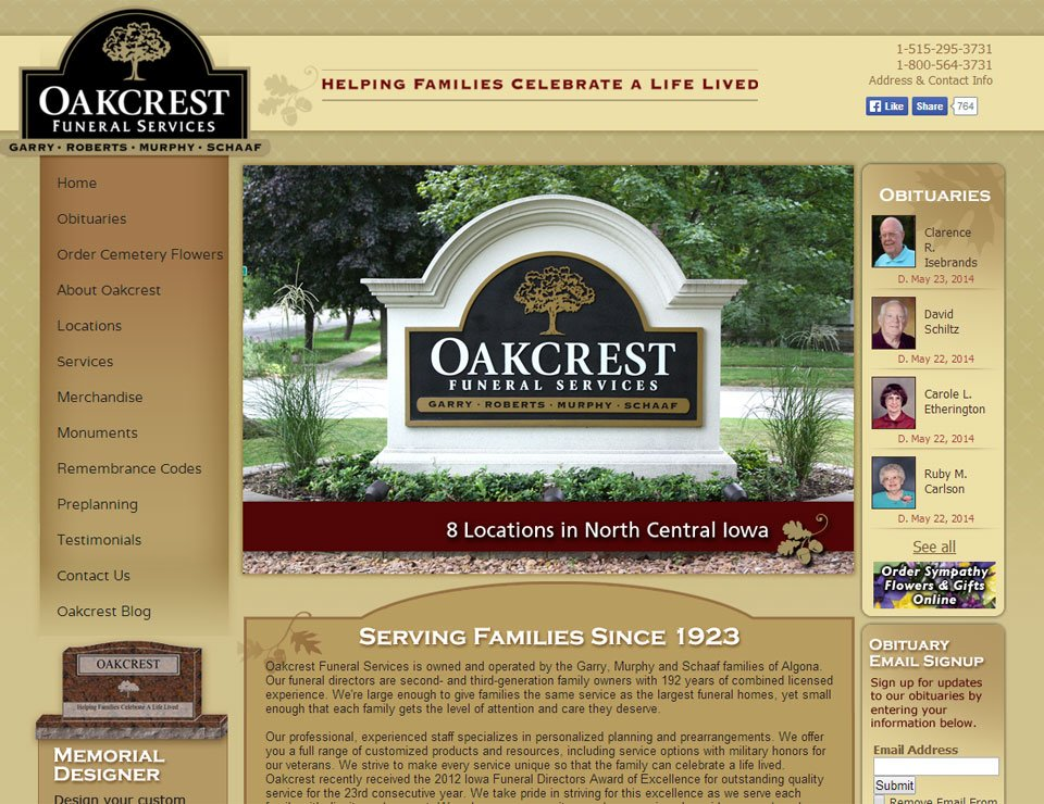 Oakcrest Funeral Services